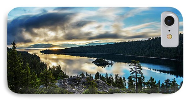 Emerald Bay Sunrise Lake Tahoe IPhone Case by Brad Scott