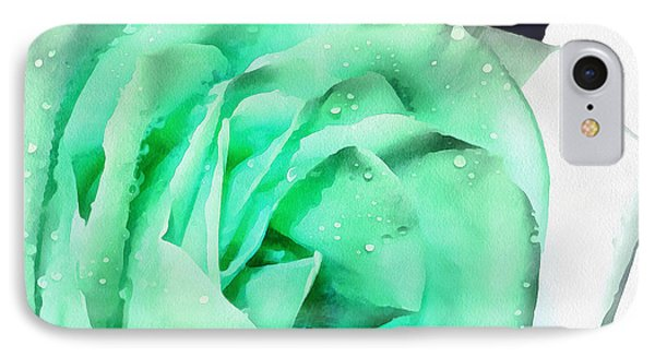 Emerald Bliss IPhone Case