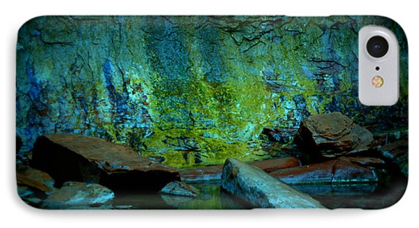 Emerald Cave IPhone Case