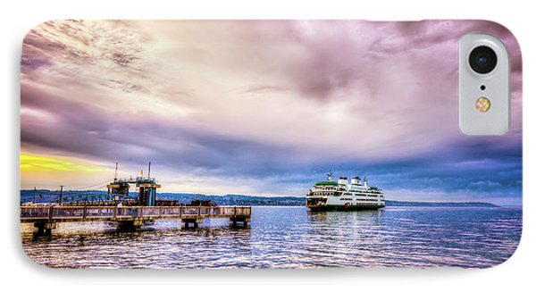 IPhone Case featuring the photograph Emerald City Ferry by Spencer McDonald