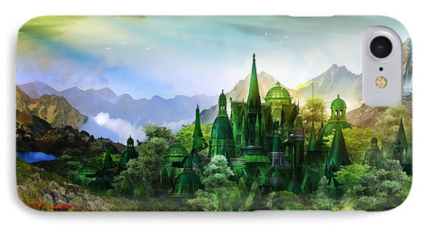 Emerald City IPhone Case by Mary Hood