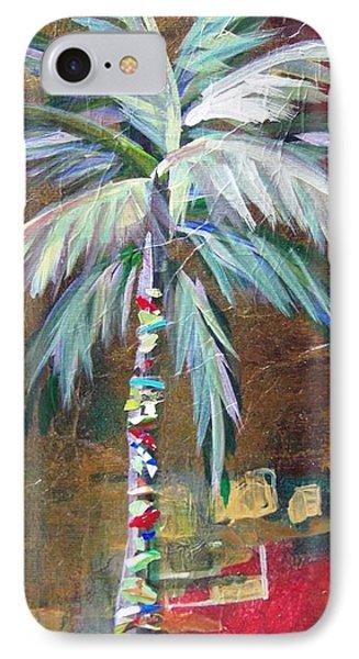 Emerald Fire Palm  IPhone Case by Kristen Abrahamson