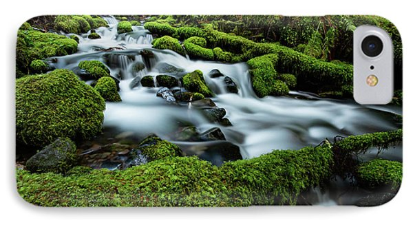 Emerald Flow IPhone Case