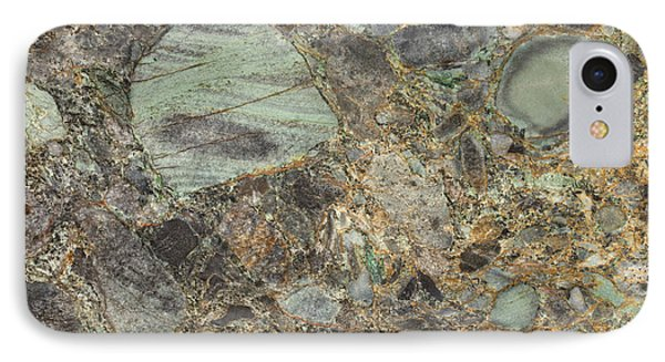 Emerald Green Granite IPhone 7 Case by Anthony Totah