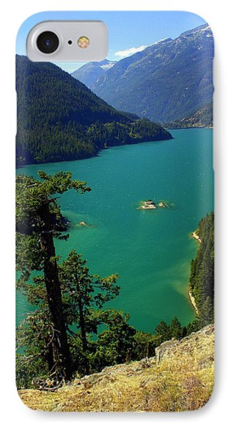 Emerald Lake Phone Case by Marty Koch