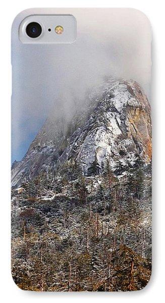 Emerging Peak - Idyllwild Phone Case by Glenn McCarthy Art and Photography