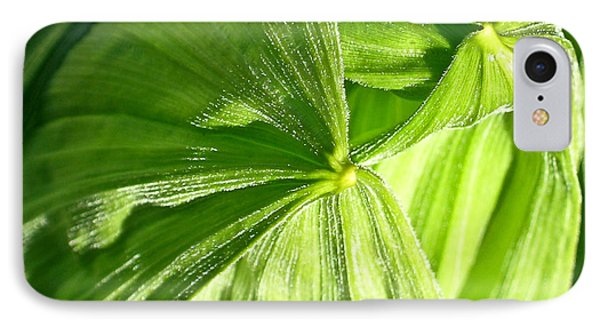 Emerging Plants IPhone Case by Douglas Barnett