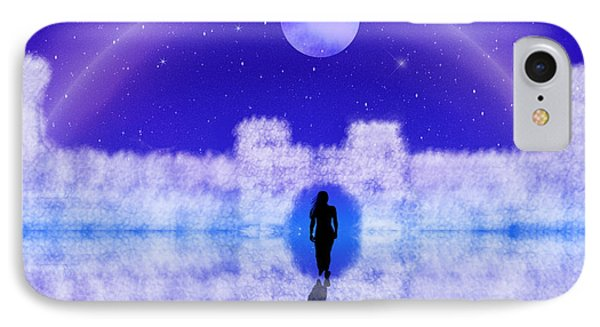IPhone Case featuring the digital art Emily's Journey Part II by Bernd Hau
