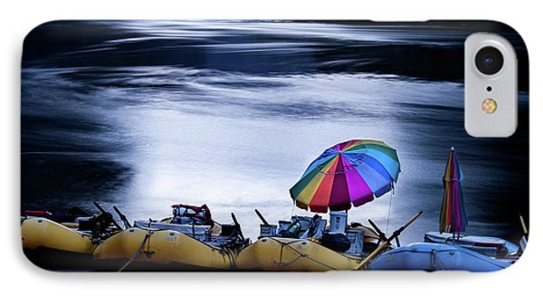 IPhone Case featuring the photograph Eminence Camp Umbrella  by Britt Runyon
