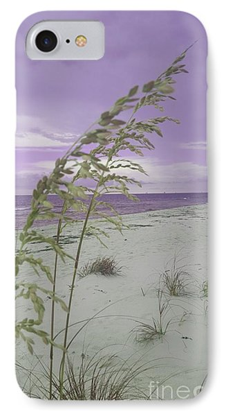 Emma Kate's Purple Beach IPhone Case
