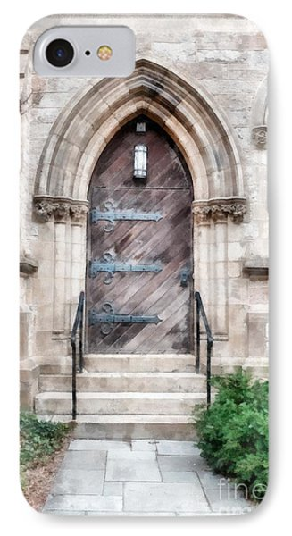 Emmanuel Church Newbury Street Boston Ma IPhone Case by Edward Fielding