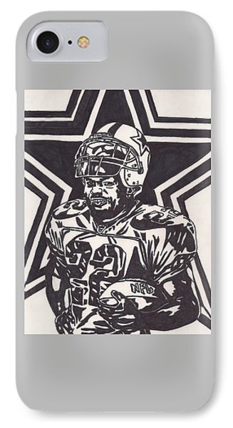 Emmitt Smith Phone Case by Jeremiah Colley