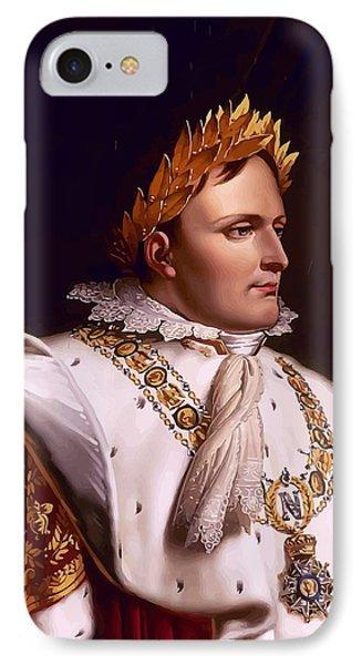 Emperor Napoleon Bonaparte  Phone Case by War Is Hell Store