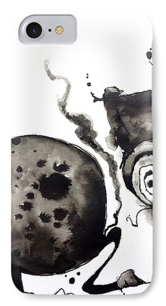 Emphysema  IPhone Case by Nick Watts