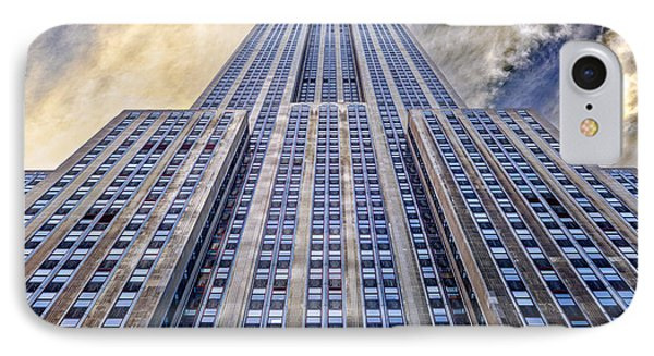 Empire State Building  IPhone 7 Case by John Farnan