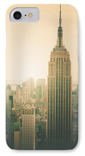 Empire State Building - New York City IPhone Case