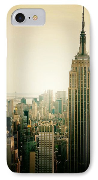 Empire State Building New York Cityscape Phone Case by Vivienne Gucwa