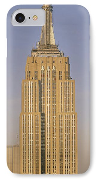 Empire State Building New York Ny IPhone Case by Panoramic Images