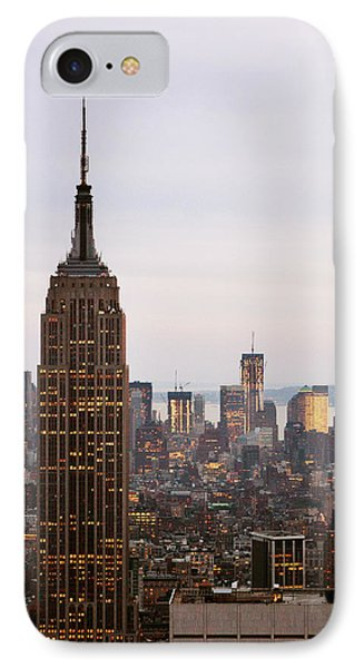 Empire State Building No.2 IPhone Case by Zawhaus Photography