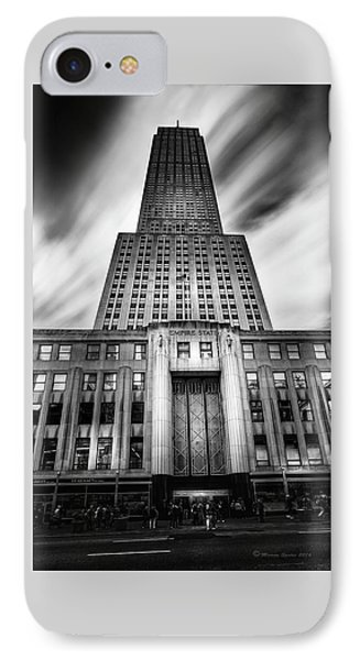 Empire State IPhone Case by Marvin Spates