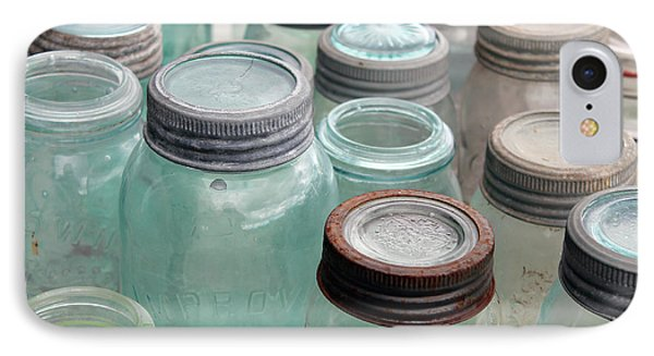 Empty Antique Canning Jars IPhone Case
