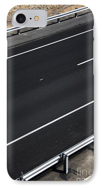 Empty Highway IPhone Case