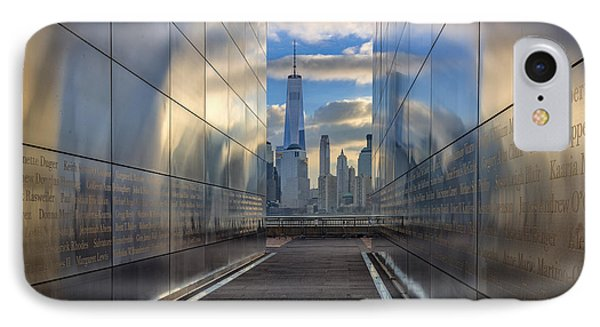 Empty Sky Memorial IPhone Case by Rick Berk