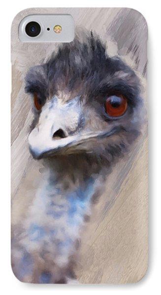 Emu Phone Case by Gillian Dernie