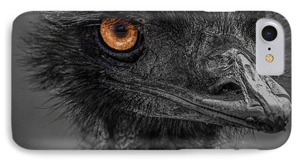 Emu IPhone Case by Paul Freidlund