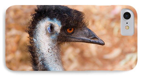 Emu Profile IPhone 7 Case by Mike  Dawson