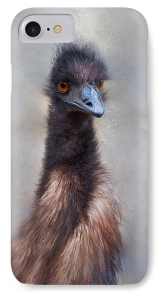 IPhone Case featuring the photograph Emu by Robin-Lee Vieira