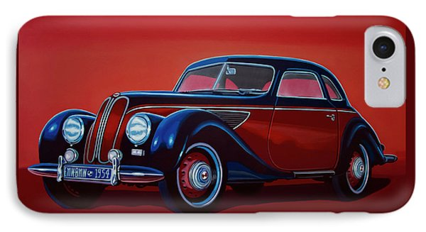Emw Bmw 1951 Painting IPhone Case by Paul Meijering
