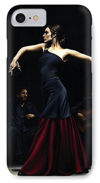 Encantado Por Flamenco Phone Case by Richard Young