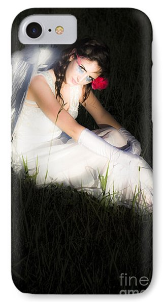Enchanted Angel IPhone Case by Jorgo Photography - Wall Art Gallery