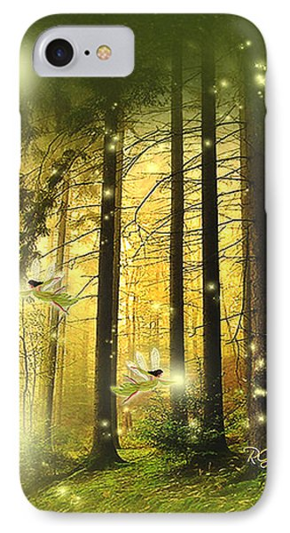 IPhone Case featuring the digital art Enchanted Forest - Fantasy Art By Giada Rossi by Giada Rossi