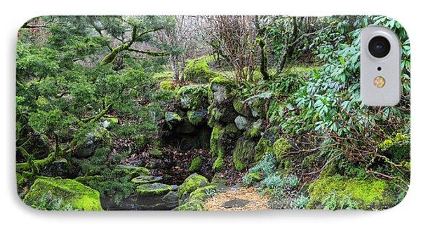 Enchanted Garden IPhone Case by Lorraine Baum