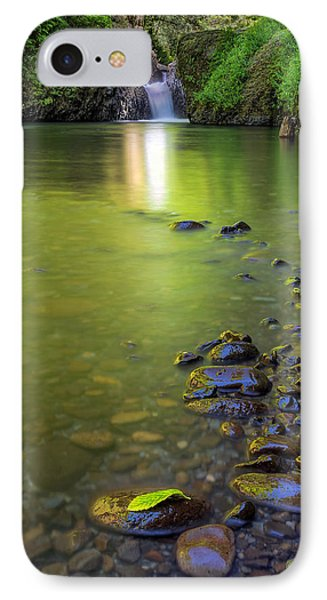 Enchanted Gorge Reflection Phone Case by David Gn