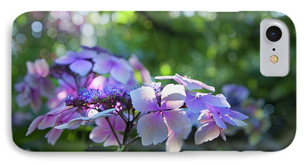 IPhone Case featuring the photograph Enchanted Hydrangea by Theresa Tahara