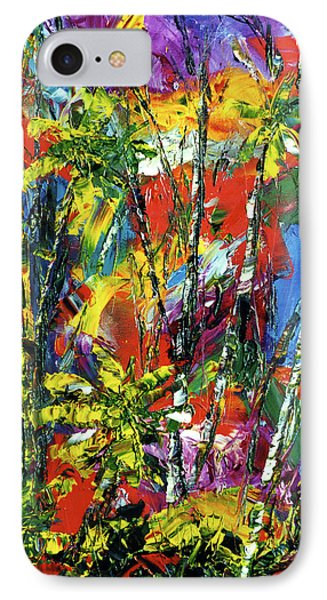 Enchanted Jungle  #167 Phone Case by Donald k Hall