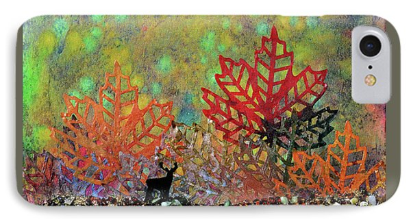 Enchanted Pathways IPhone Case by Donna Blackhall