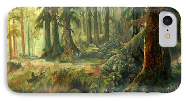 Enchanted Rain Forest IPhone Case by Sherry Shipley