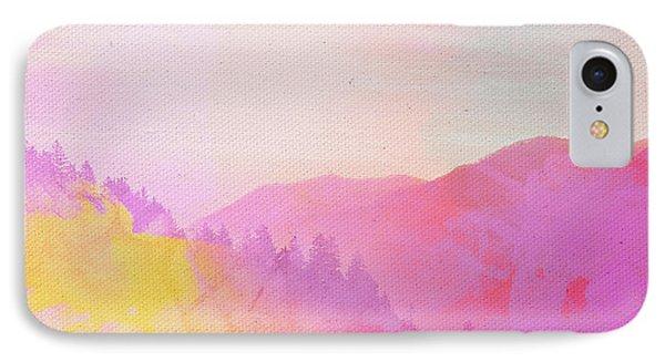IPhone Case featuring the digital art Enchanted Scenery #2 by Klara Acel