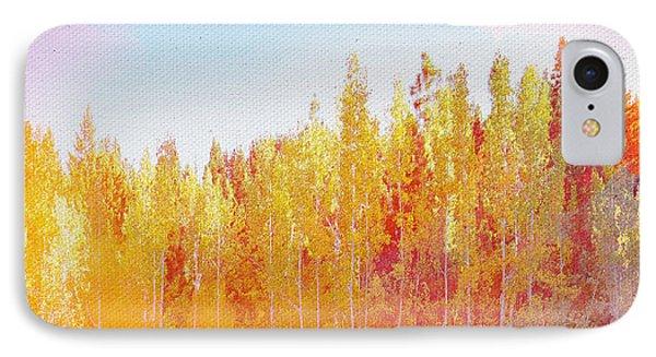 IPhone Case featuring the digital art Enchanted Scenery #3 by Klara Acel