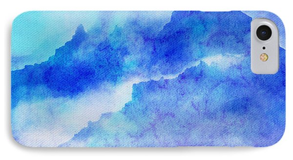 IPhone Case featuring the digital art Enchanted Scenery #4 by Klara Acel
