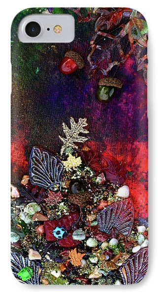 Enchanted Twilight IPhone Case by Donna Blackhall