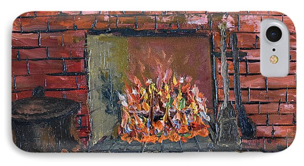 Enchanting Fire IPhone Case