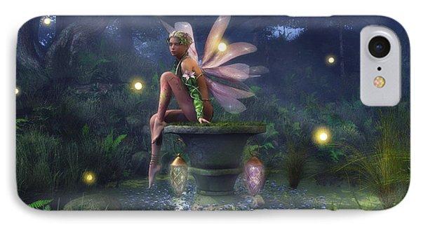 Enchantment - Fairy Dreams Phone Case by Melissa Krauss