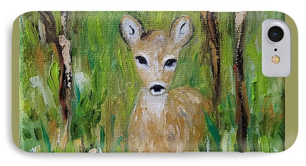 IPhone Case featuring the painting Enchantment by Judith Rhue