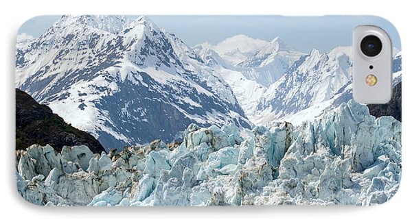 Glaciers End Of A Journey IPhone Case by Allan Levin