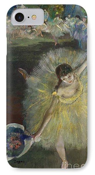 End Of An Arabesque IPhone Case by Edgar Degas